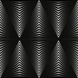 Abstract background in the form of gray rhombuses on black. vector illustration