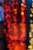 Abstract background in the form of lights bokeh Royalty Free Stock Images