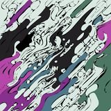Abstract background in the form of a paint divorce - vector eps10.  Royalty Free Stock Images