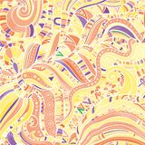 Abstract background in the form of zebra patterns. Vector Royalty Free Illustration