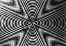 Abstract background a4 format. Halftone pattern spiral. Black, White Royalty Free Stock Photography