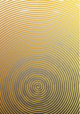 Abstract background a4 format. Halftone pattern spiral. Gold, yellow Royalty Free Stock Photo
