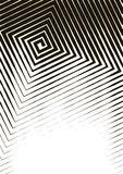 Abstract background a4 format. Halftone pattern spiral. Square, spiral, line Royalty Free Stock Photography