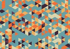 Abstract background A4 format. Pattern of multiple triangles. Shades of colors Stock Photos