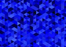Abstract background A4 format. Pattern of multiple triangles. Shades of colors Royalty Free Stock Images