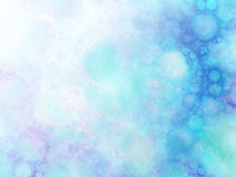 Abstract background with fractal bubbles. Royalty Free Stock Photos