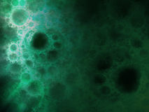 Abstract background with fractal bubbles. Royalty Free Stock Image