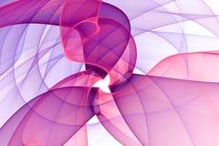 Abstract background. Fractal digital artwork. 3d illustration Royalty Free Illustration