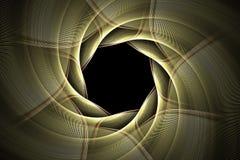 Abstract background. Fractal digital artwork. 3d illustration Vector Illustration