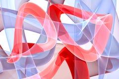 Abstract background. Fractal digital artwork. 3d illustration Stock Illustration