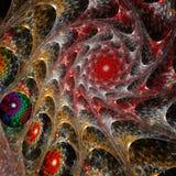 abstract background fractal spiral απεικόνιση αποθεμάτων