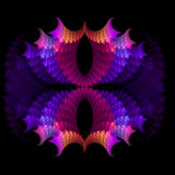 abstract background fractal symmetrical 库存例证