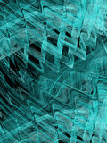 Abstract background with fractal waves. Digital collage. Royalty Free Stock Images