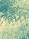 Abstract background with fractal waves. Digital collage. Royalty Free Stock Image