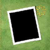 Abstract background with frame. In scrapbooking style Stock Illustration