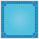 Abstract background, frame, blue Royalty Free Stock Photo