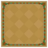 Abstract background, frame, brown. Abstract background with square symmetric frame, brown Stock Images