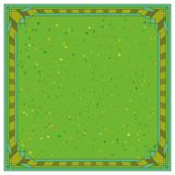 Abstract background, frame, green. Abstract background with square symmetric frame, green Stock Illustration