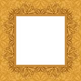 Abstract background, frame and pattern. Background with abstract graphic contour pattern, frame and empty space for text Royalty Free Illustration
