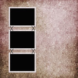 Abstract background with frames Royalty Free Stock Images
