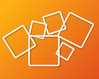 Abstract background with frames vector Stock Photo