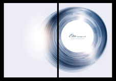 Abstract background, front and back. Abstract blue and white background Stock Photography