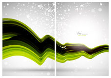 Abstract background, front and back. Abstract technology background template, front and back vector illustration