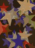 Abstract background full of stars for design and print.  royalty free illustration