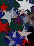 Abstract background full of stars for design and print.  vector illustration