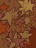Abstract background full of stars for design and print.  stock illustration