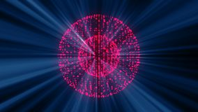 Abstract background from futuristic bright disco ball Royalty Free Stock Photography