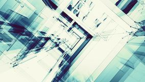 Abstract background futuristic concept fantastic details. 3d rendering stock illustration