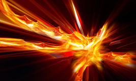 Abstract background. Futuristic abstract background. Explosion on black Royalty Free Stock Images