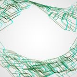 Abstract background, futuristic illustration Royalty Free Stock Photography