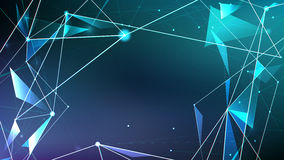 Abstract background, Futuristic style of the future technology Royalty Free Stock Photography