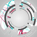 Abstract background for futuristic tech design Royalty Free Stock Image