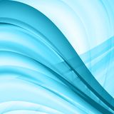 Abstract background, futuristic wavy shapes. Vector illustration eps 10 Royalty Free Stock Images
