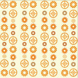 Abstract background, gears Royalty Free Stock Photos