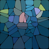 Abstract background from gemstones. For your site design, printing products royalty free illustration