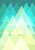Abstract background. Geometric abstract background Stock Photo