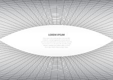 Abstract background with geometric cobwebs. Distortion of space and matter. White space for text vector illustration