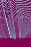Abstract background with geometric 3d lines pattern, linear vect. Or illustration with copy space for text Vector Illustration