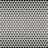 Abstract background. Geometric design. Abstract geometric black and white graphic design print halftone triangle pattern royalty free illustration