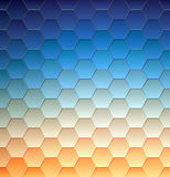 Abstract background, geometric design, vector illustration. Geometric tesselation of colored surface Stock Image
