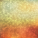 Abstract background, geometric design, vector illustration. Geometric tesselation of colored surface. Stained-glass Stock Photos