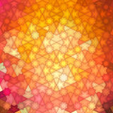 Abstract background, geometric design, vector illustration. Geometric tesselation of colored surface. Stained-glass. Window style. Abstract color blur Royalty Free Illustration