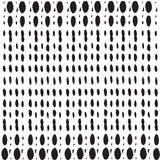 Abstract  background. Geometric dot lined seamless pattern. Royalty Free Stock Photography
