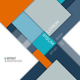 Abstract background with geometric element. Minimalistic design, creative concept, modern diagonal abstract background with geometric element. Blue, gray and Stock Photos
