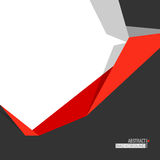 Abstract background with geometric element. Minimalistic design, creative concept, modern diagonal abstract background with geometric element. Red, gray and royalty free illustration