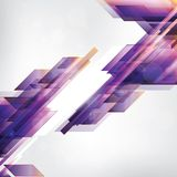 Abstract background with geometric elements Royalty Free Stock Image